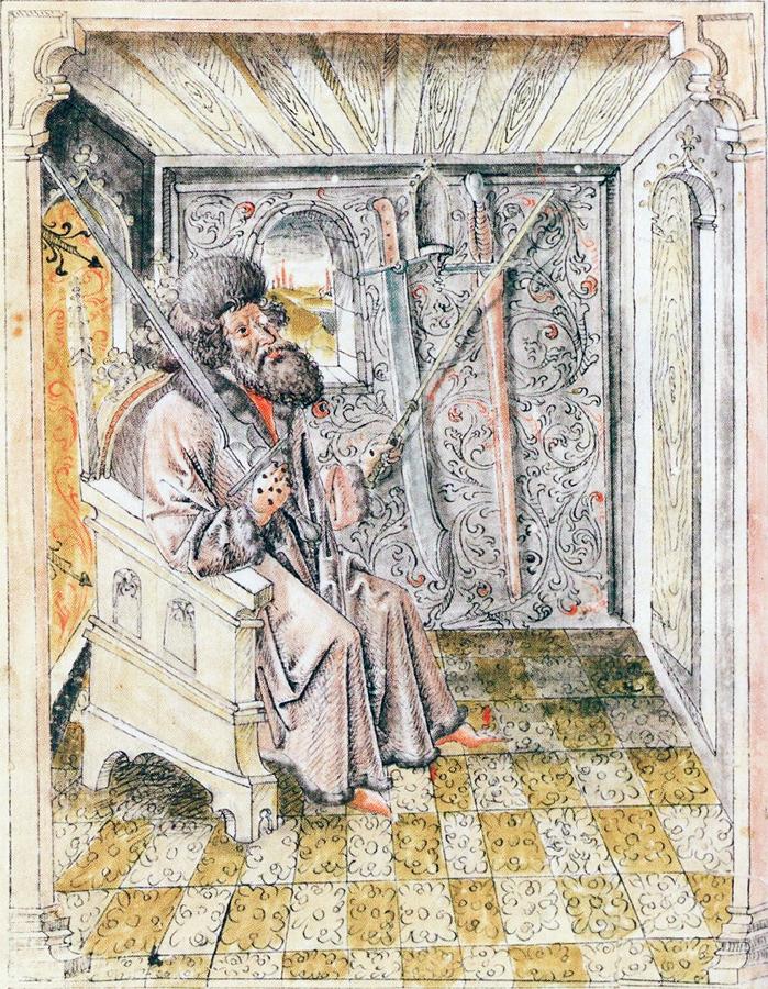 Johannes Liechtenauer - długi miecz Kunst des Fechtens Blossfechten