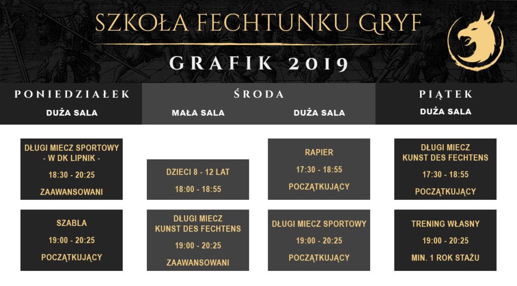 Harmonogram 2019/2020