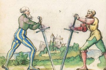 Kunst des Fechtens - Goliath Fechtbuch