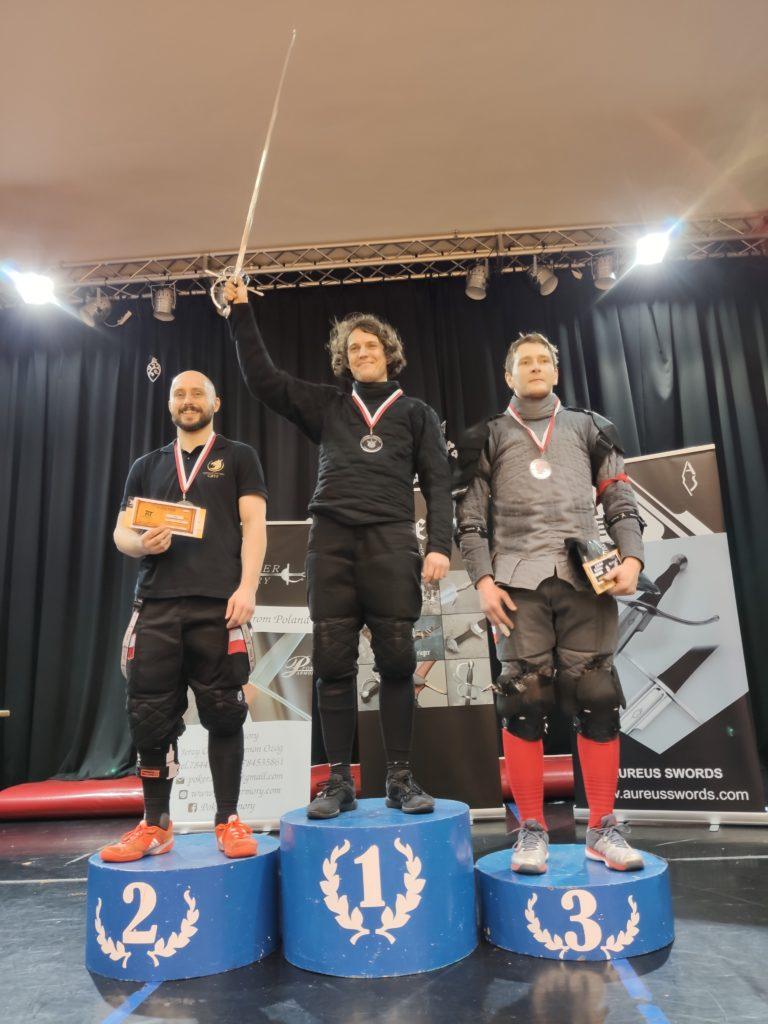 Mistrzostwa Polski DESW 2019 - medaliści rapiera z lewakiem